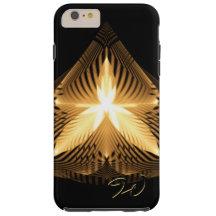 Golden Flourish 1 Tough iPhone 6 Plus Case