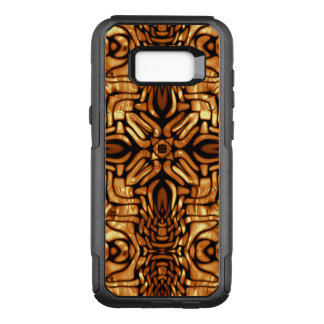 Golden Flowing Shapes Pattern with Highlights OtterBox Commuter Samsung Galaxy S8+ Case