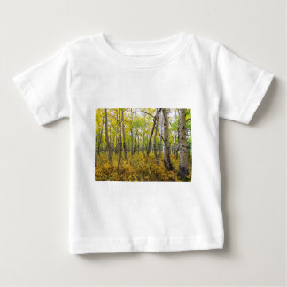 Golden Forest Bed Baby T-Shirt