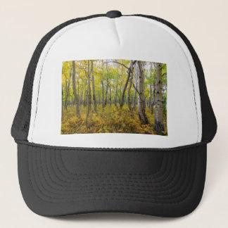 Golden Forest Bed Trucker Hat