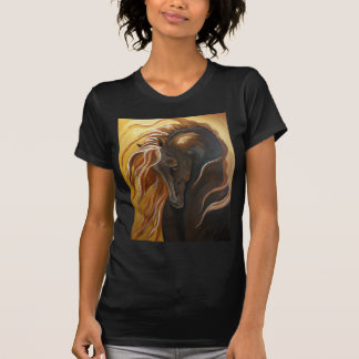 Golden Friesian Horse T-Shirt