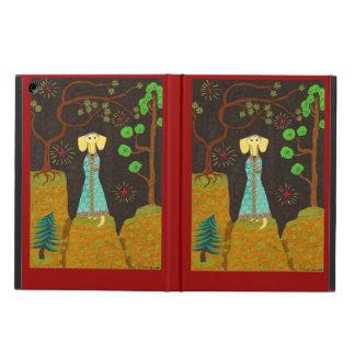 Golden Fur iPad Air Covers