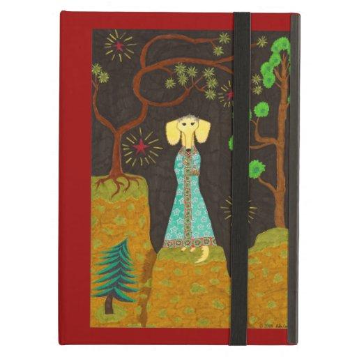 Golden Fur iPad Cover