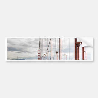 golden gate-5 bumper sticker