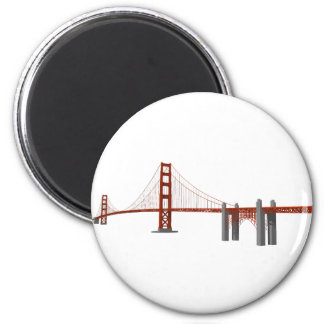 Golden Gate Bridge: 3D Model: Magnet