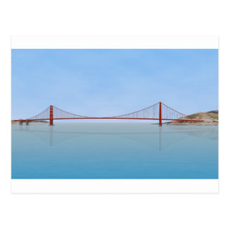 Golden Gate Bridge: 3D Model: Post Cards