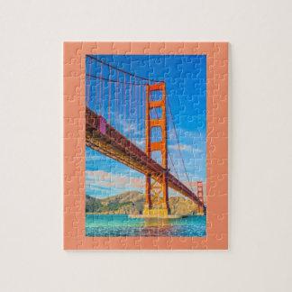 Golden Gate Bridge 8x10 Photo Puzzle with Gift Box