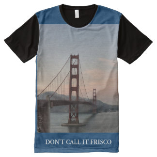 Golden Gate Bridge All-Over Print T-Shirt