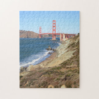 Golden Gate Bridge and Beach puzzle