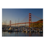 Golden Gate Bridge and San Francisco 2 Poster