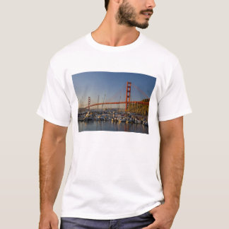 Golden Gate Bridge and San Francisco 2 T-Shirt