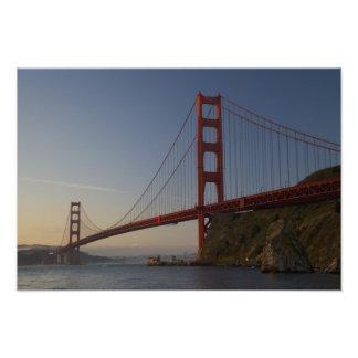 Golden Gate Bridge and San Francisco 3 Photographic Print