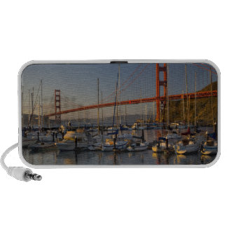 Golden Gate Bridge and San Francisco 4 Mini Speakers