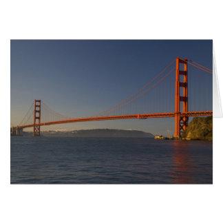 Golden Gate Bridge and San Francisco 5 Greeting Card