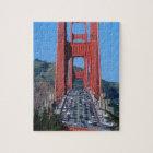 Golden Gate bridge and San Francisco Bay Jigsaw Puzzle