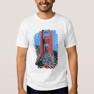Golden Gate bridge and San Francisco Bay T Shirt
