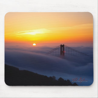 Golden Gate Bridge at Sunrise Mouse Pad