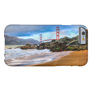 Golden Gate Bridge at sunset Barely There iPhone 6 Case