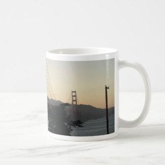 Golden Gate Bridge at Sunset Coffee Mug