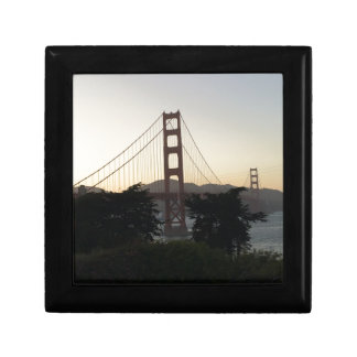 Golden Gate Bridge at Sunset Gift Box