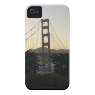 Golden Gate Bridge at Sunset iPhone 4 Case-Mate Cases