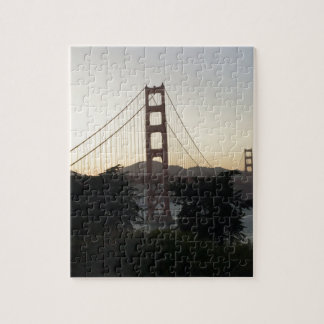 Golden Gate Bridge at Sunset Puzzle