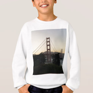 Golden Gate Bridge at Sunset Sweatshirt