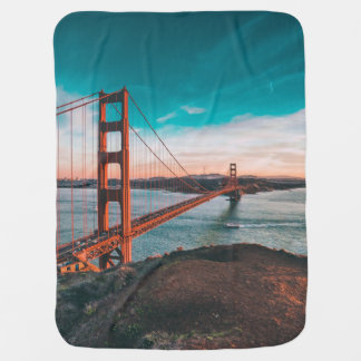 Golden Gate Bridge Baby Blanket
