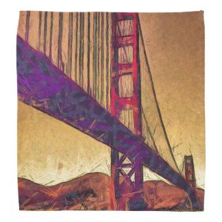 Golden gate bridge bandana