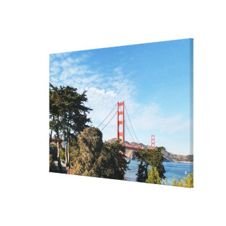 Golden Gate Bridge, California CA Canvas Print