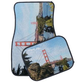 Golden Gate Bridge, California CA Car Mat