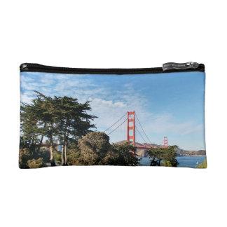 Golden Gate Bridge, California CA Cosmetics Bags