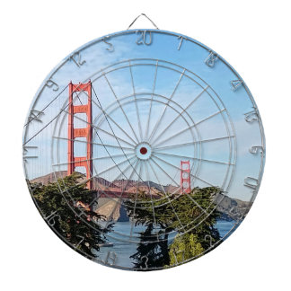 Golden Gate Bridge, California CA Dartboard