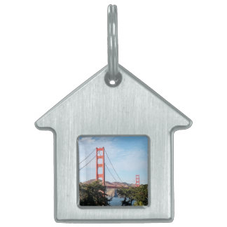 Golden Gate Bridge, California CA Pet ID Tag