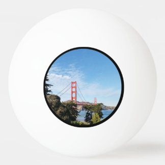Golden Gate Bridge, California CA Ping Pong Ball
