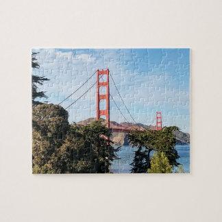 Golden Gate Bridge, California CA Puzzle