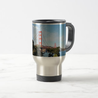 Golden Gate Bridge, California CA Travel Mug