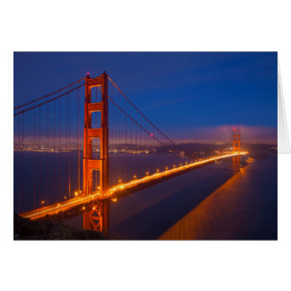 Golden Gate Bridge, California Card