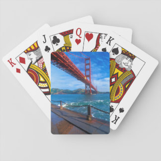 Golden Gate Bridge, California Playing Cards