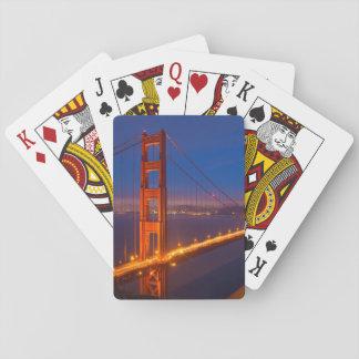 Golden Gate Bridge, California Playing Cards
