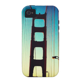 Golden Gate Bridge Vibe iPhone 4 Cover