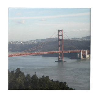 Golden Gate Bridge Ceramic Tile