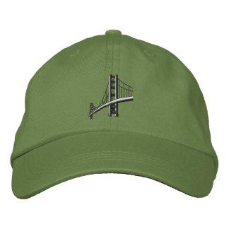 Golden Gate Bridge Embroidered Hat