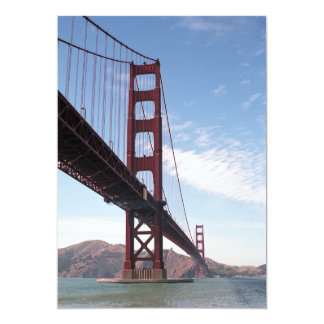 Golden Gate Bridge From Fort Point Post card