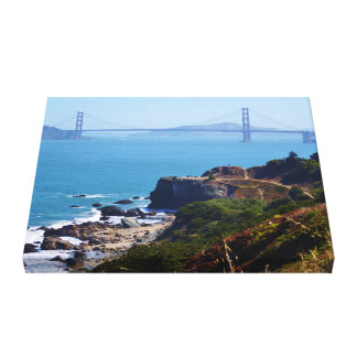 Golden Gate Bridge from Land's End Canvas Print