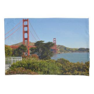Golden Gate Bridge in San Francisco California Pillowcase