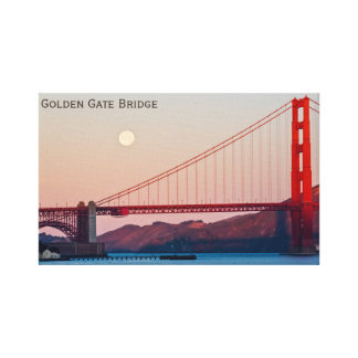 Golden Gate Bridge in San Francisco Canvas Print
