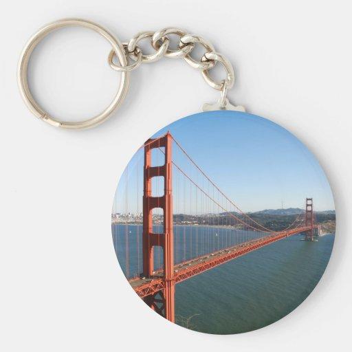Golden Gate Bridge in San Francisco Keychain