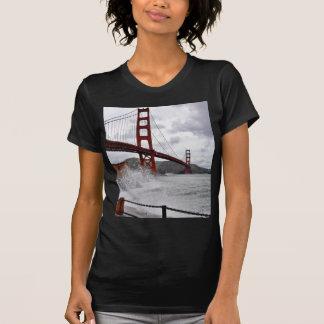 Golden Gate Bridge In San Francisco Seen From Fort T-Shirt