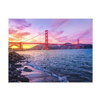 Golden Gate Bridge | Landscape Canvas Print